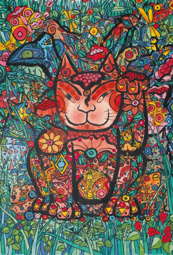 [PC]庭の猫